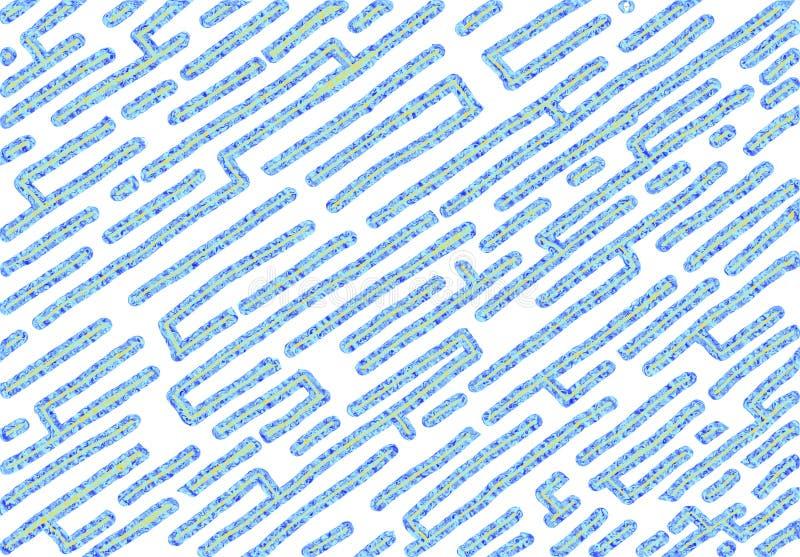 Υπόβαθρο ύφους λαβυρίνθου, τιναγμένο υγρό θέμα απεικόνιση αποθεμάτων