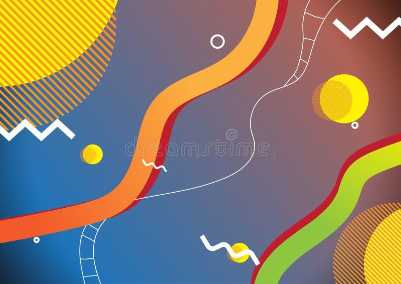 Υπόβαθρο ύφους της Μέμφιδας στοκ φωτογραφίες με δικαίωμα ελεύθερης χρήσης