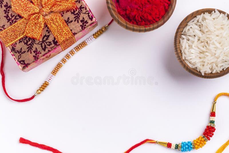 Υπόβαθρο Bandhan Raksha στοκ εικόνες