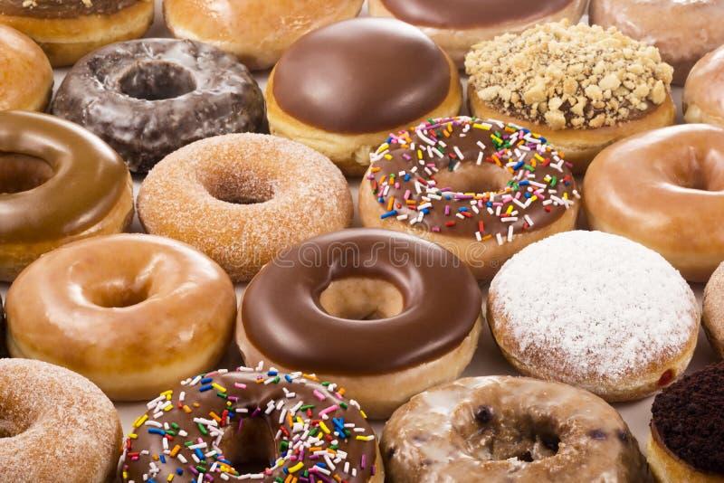 Υπόβαθρο Donuts στοκ εικόνα