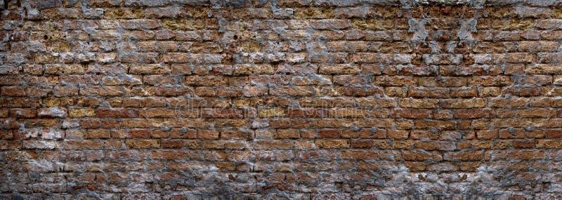 Υπόβαθρο Grunge ενός τοίχου των τούβλων στοκ φωτογραφία με δικαίωμα ελεύθερης χρήσης