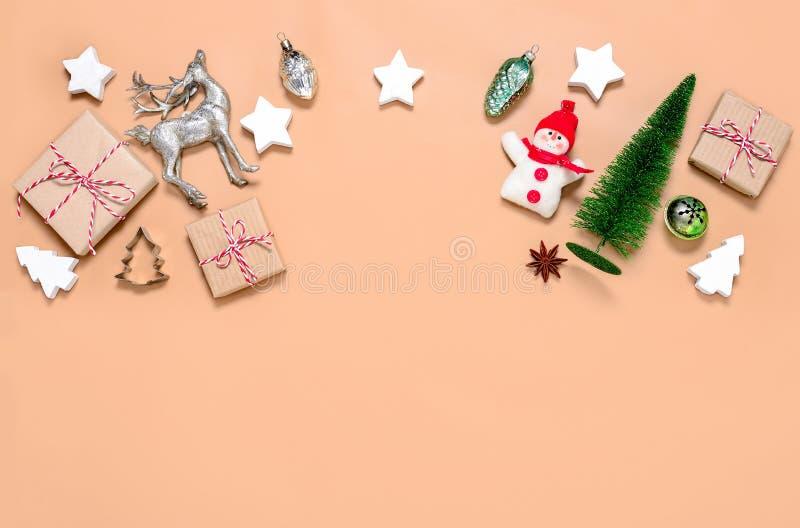Υπόβαθρο Noel ή Χριστουγέννων στοκ εικόνες