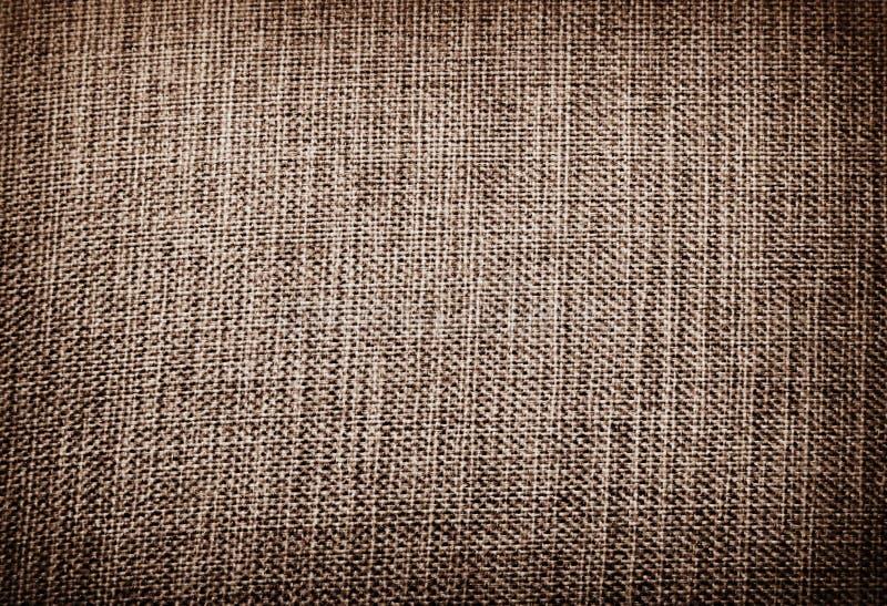 Υπόβαθρο sackcloth καμβάς ύφασμα φυσικό ύφασμα ντεκόρ συσκευασία στοκ φωτογραφία με δικαίωμα ελεύθερης χρήσης