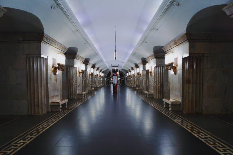 υπόγειος της Μόσχας στοκ εικόνες με δικαίωμα ελεύθερης χρήσης