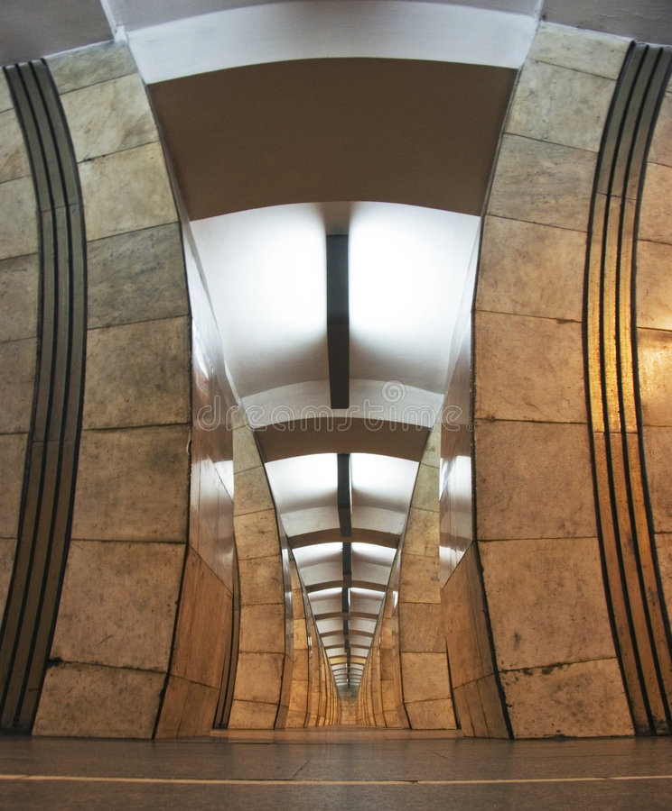 υπόγειος του Κίεβου στοκ εικόνες