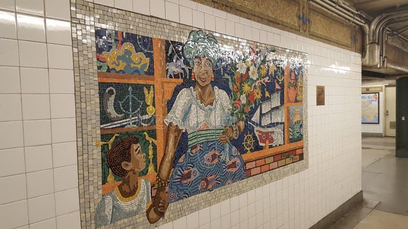 Υπόγειος NYC στοκ φωτογραφία με δικαίωμα ελεύθερης χρήσης