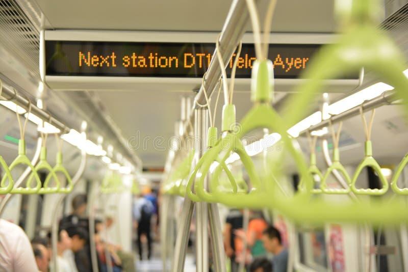 Υπόγειο τρένο στοκ φωτογραφίες με δικαίωμα ελεύθερης χρήσης