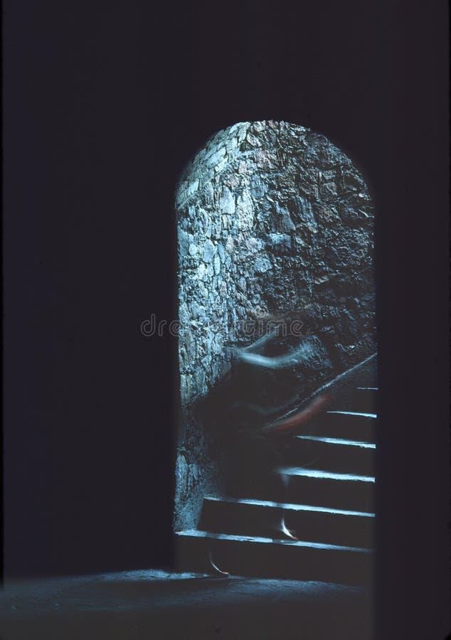 Υπόγειο φάντασμα στοκ φωτογραφίες