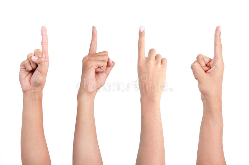 υπόδειξη δάχτυλων στοκ εικόνα με δικαίωμα ελεύθερης χρήσης