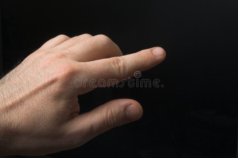 υπόδειξη δάχτυλων στοκ εικόνες με δικαίωμα ελεύθερης χρήσης