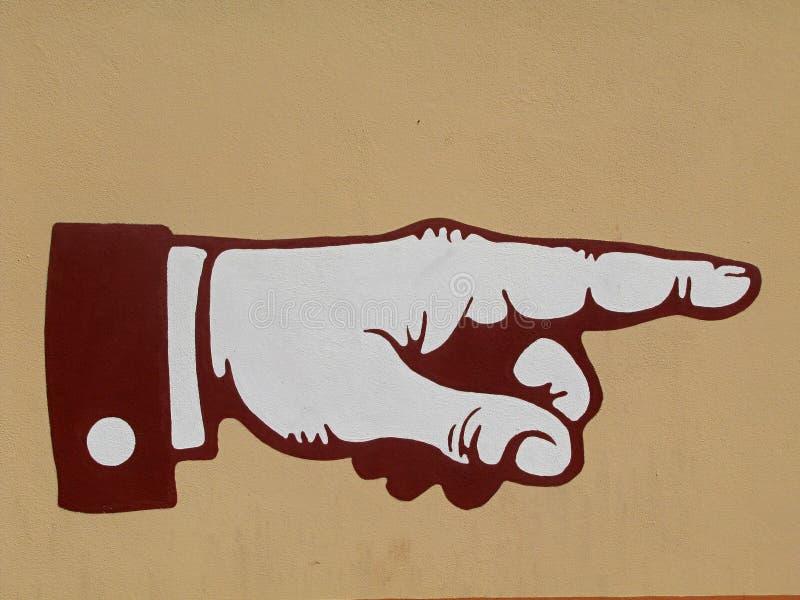 υπόδειξη χεριών δάχτυλων στοκ εικόνες με δικαίωμα ελεύθερης χρήσης