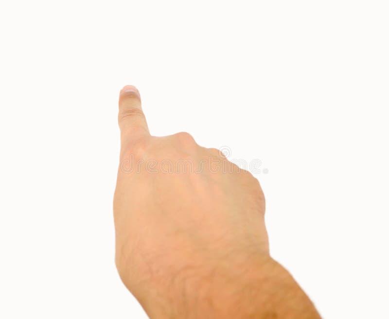 υπόδειξη χεριών στοκ εικόνες με δικαίωμα ελεύθερης χρήσης
