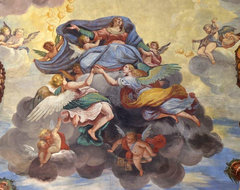 Υπόθεση της Virgin Mary στοκ εικόνες