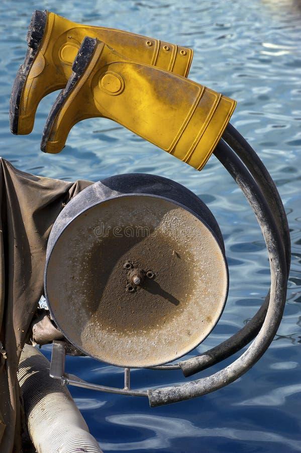 Υπόλοιπο ψαρά στοκ εικόνα