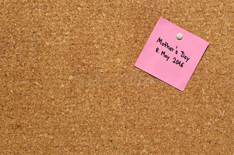Υπόμνημα: Ημέρα 2016 μητέρας στοκ εικόνες
