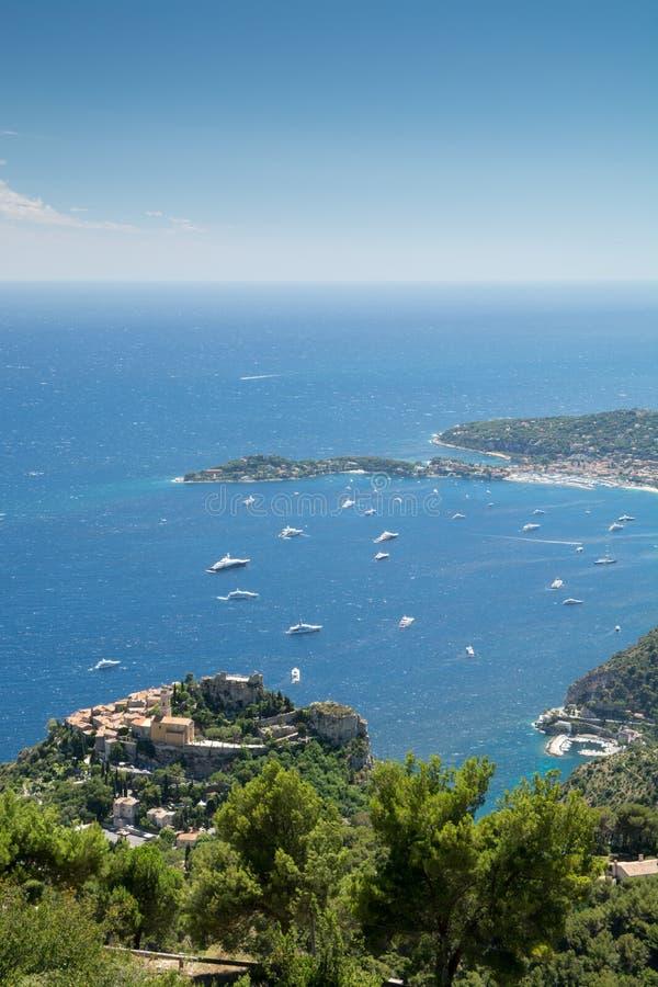 Υπόστεγο d'Azur, Γαλλία στοκ εικόνες