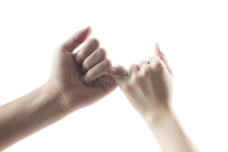 Υπόσχεση στοκ φωτογραφία