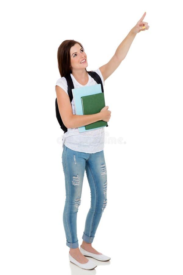 Υπόδειξη φοιτητών πανεπιστημίου στοκ εικόνα