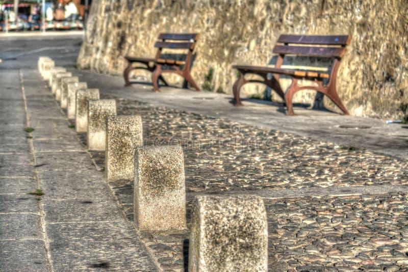 Υπόλοιπος κόσμος των πυλώνων στοκ φωτογραφία με δικαίωμα ελεύθερης χρήσης