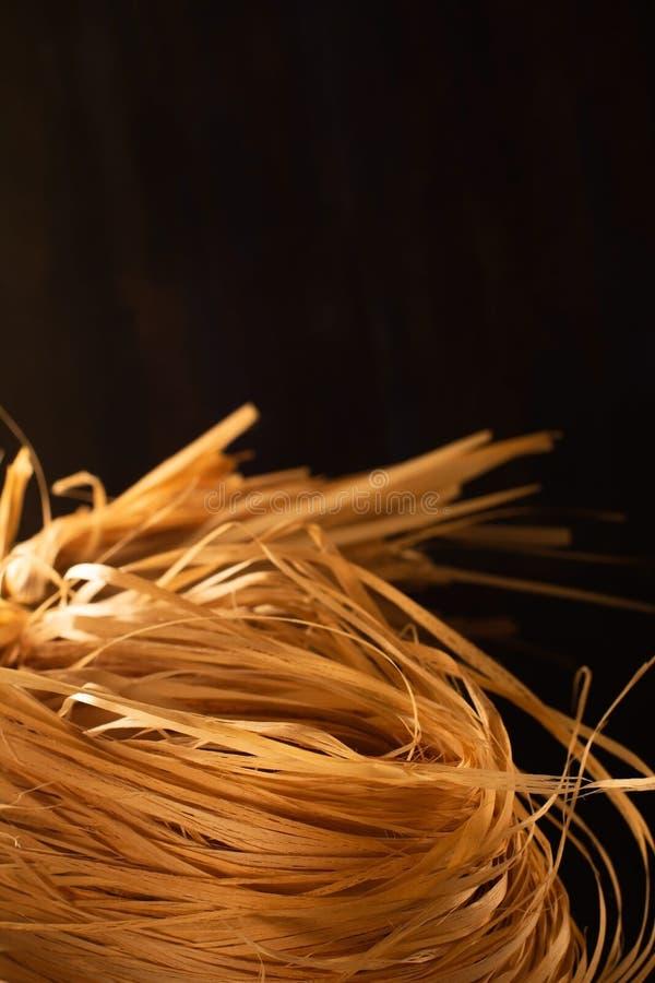 Υφάσματα πλυντηρίου από φυσικό λουτρό Υφή των ινών των ασβεστολιθικών δέντρων στοκ εικόνες
