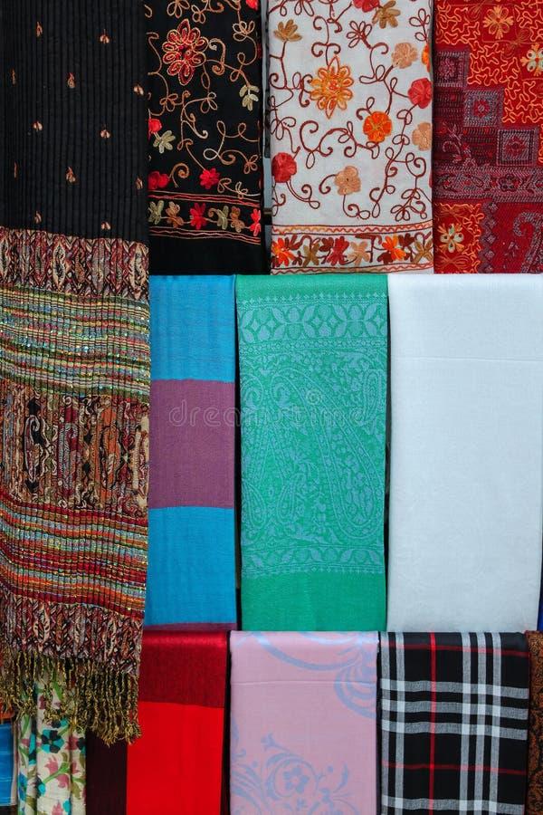 Υφάσματα της Ιστανμπούλ στοκ εικόνα με δικαίωμα ελεύθερης χρήσης