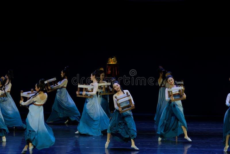 Υφαντικός χορός το 2-τριών actï ¼ š ` όνειρο να τεμαχίσει το μετάξι ` - επική πριγκήπισσα ` μεταξιού δράματος ` χορού στοκ εικόνες με δικαίωμα ελεύθερης χρήσης
