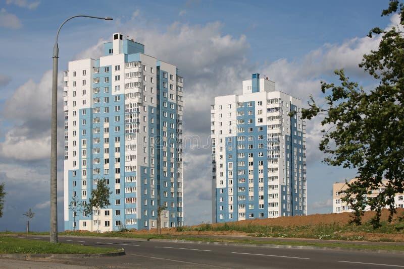 υψηλά σπίτια δύο στοκ φωτογραφίες με δικαίωμα ελεύθερης χρήσης