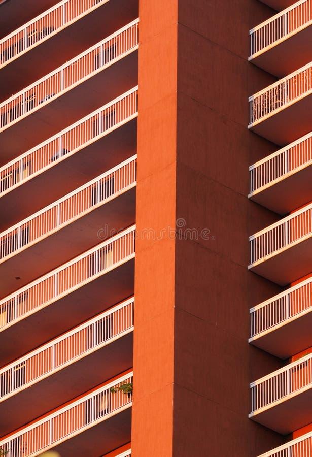 υψηλή άνοδος κτηρίου δια στοκ εικόνα