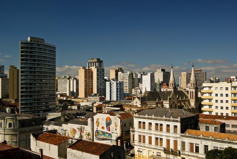 Υψηλή άποψη πόλεων στοκ εικόνα με δικαίωμα ελεύθερης χρήσης