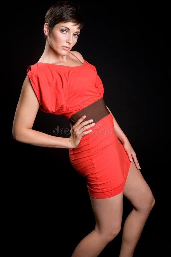υψηλή γυναίκα μόδας στοκ εικόνες