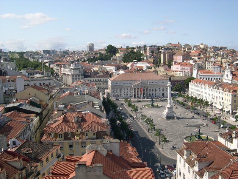 υψηλή Λισσαβώνα στοκ φωτογραφία με δικαίωμα ελεύθερης χρήσης