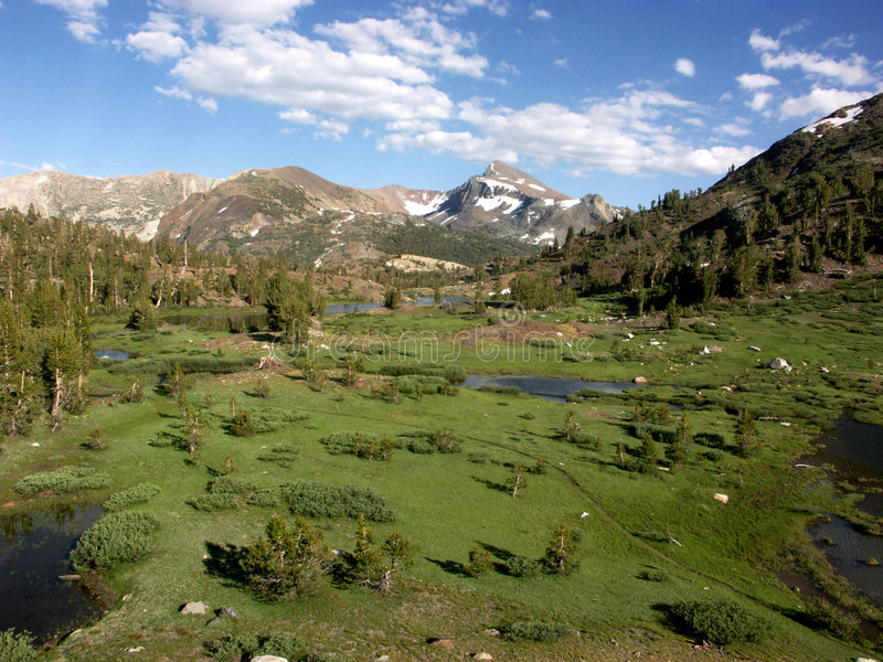 Download υψηλή οροσειρά στοκ εικόνα. εικόνα από tioga, καλοκαίρι - 394235