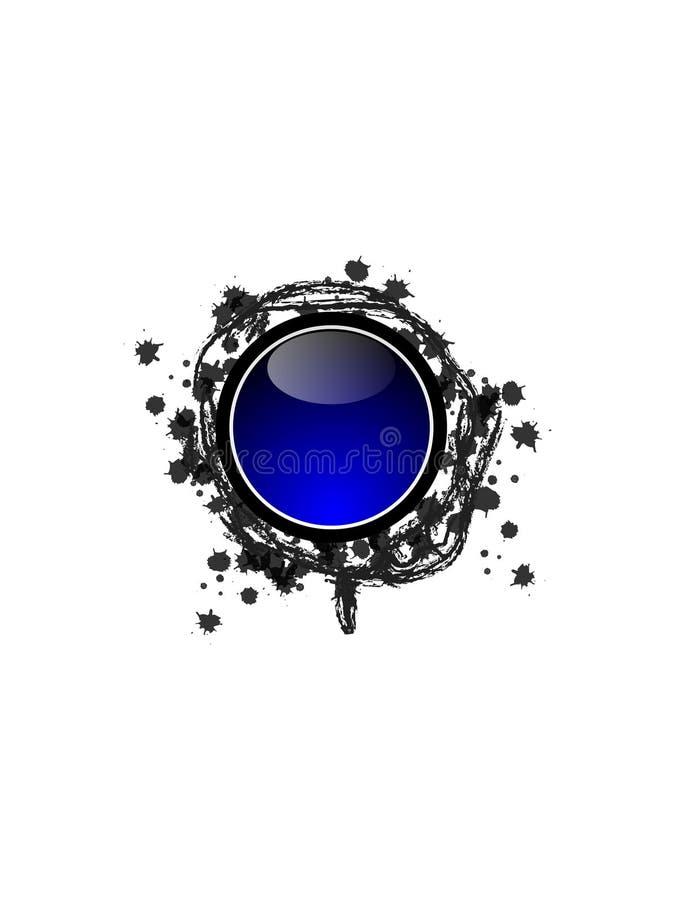 υψηλή τεχνολογία κουμπιών απεικόνιση αποθεμάτων