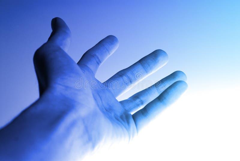 υψηλή τεχνολογία χεριών &alph στοκ εικόνες