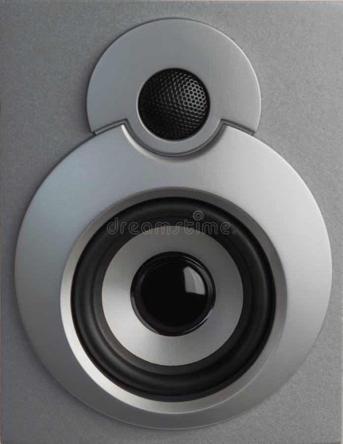 Υψηλός - ποιοτικά μεγάφωνα Γεια ηχητικό σύστημα FI στο κατάστημα για το στούντιο υγιούς καταγραφής Επαγγελματικό υψηλής πιστότητα στοκ εικόνες