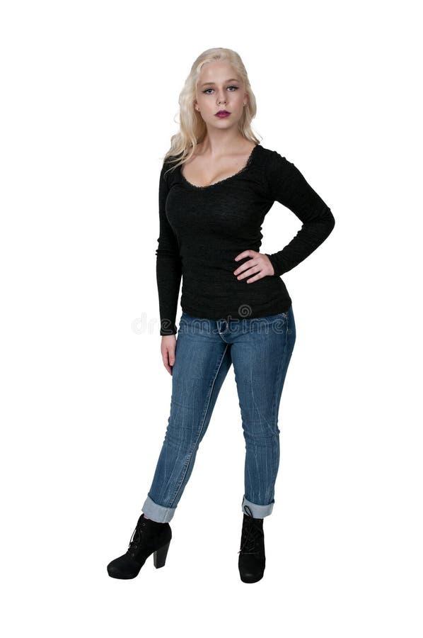 υψηλή γυναίκα τακουνιών στοκ εικόνες