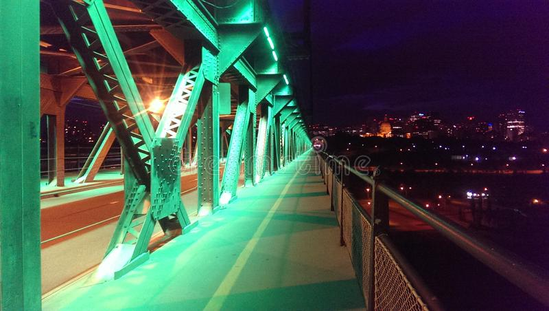 Υψηλού επιπέδου γέφυρα στοκ φωτογραφίες με δικαίωμα ελεύθερης χρήσης