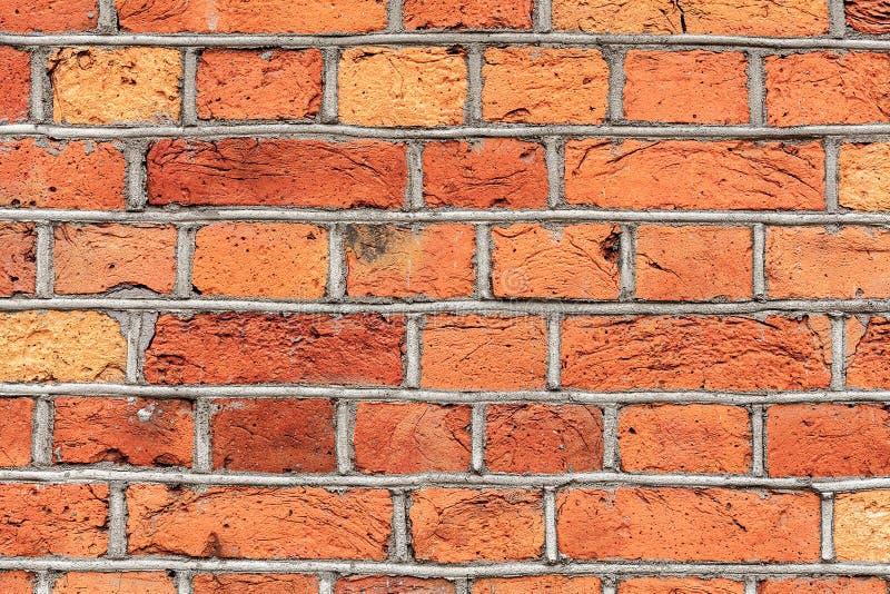 υψηλός παλαιός τοίχος σύστασης ποιοτικής κόκκινος διάλυσης φωτογραφιών τούβλου ανασκόπησης στοκ εικόνα