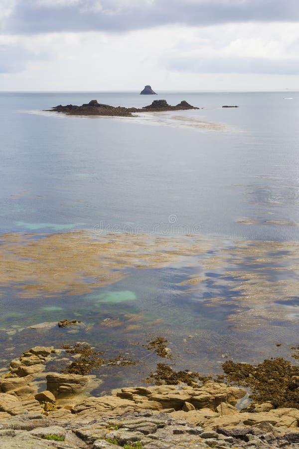 Υψηλότερος πόλης κόλπος, ST Martin, νησιά Scilly, Αγγλία στοκ εικόνα με δικαίωμα ελεύθερης χρήσης