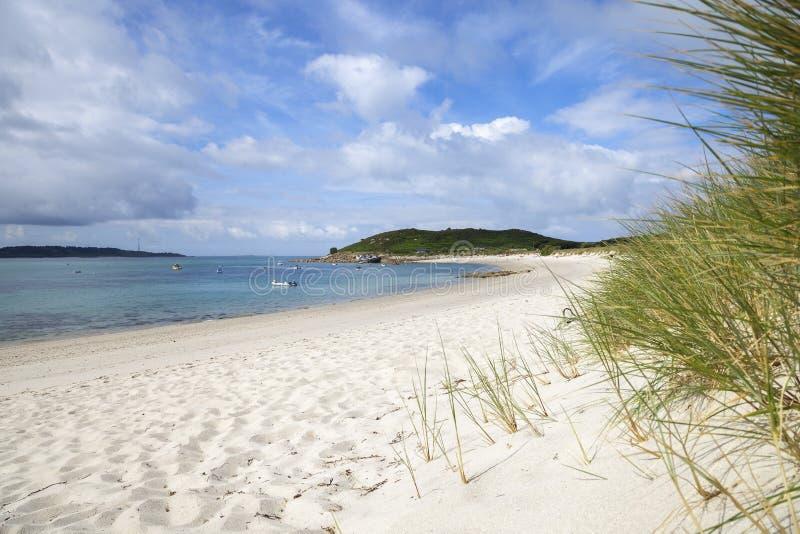 Υψηλότερος πόλης κόλπος, ST Martin, νησιά Scilly, Αγγλία στοκ φωτογραφία με δικαίωμα ελεύθερης χρήσης
