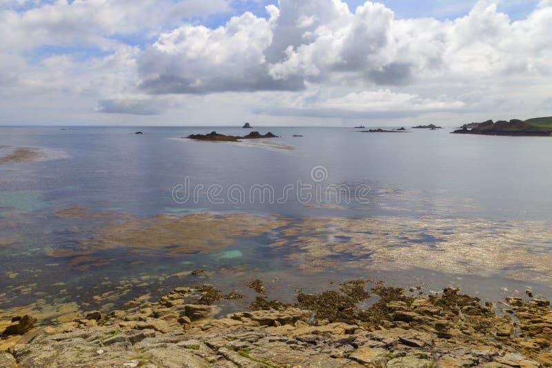 Υψηλότερος πόλης κόλπος, ST Martin& x27 s, νησιά Scilly, Αγγλία στοκ φωτογραφία με δικαίωμα ελεύθερης χρήσης