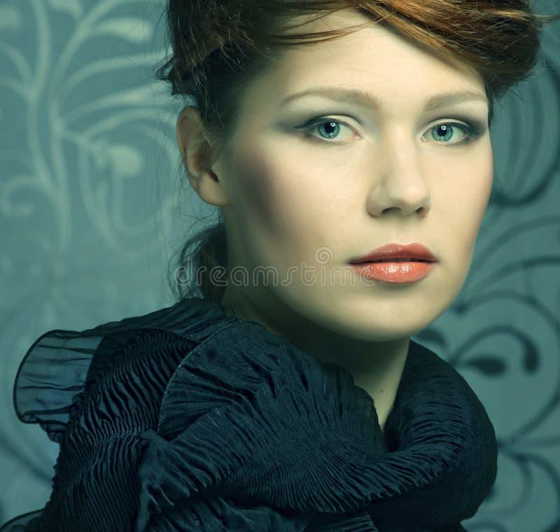 υψηλό μοντέλο μόδας στοκ φωτογραφία με δικαίωμα ελεύθερης χρήσης