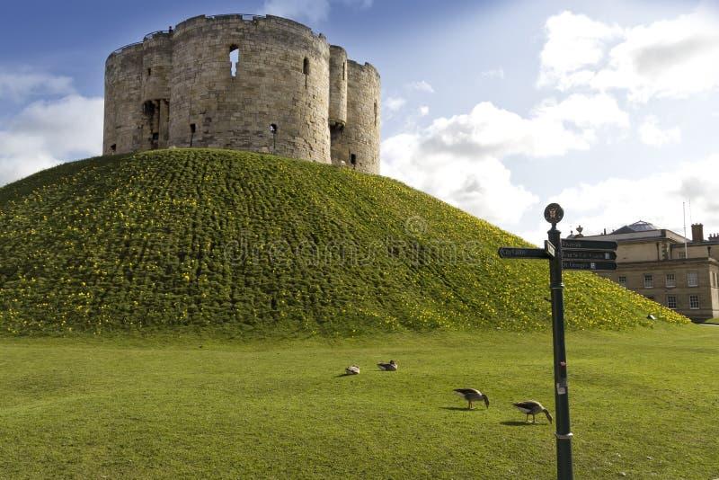Υόρκη Castle στοκ εικόνα