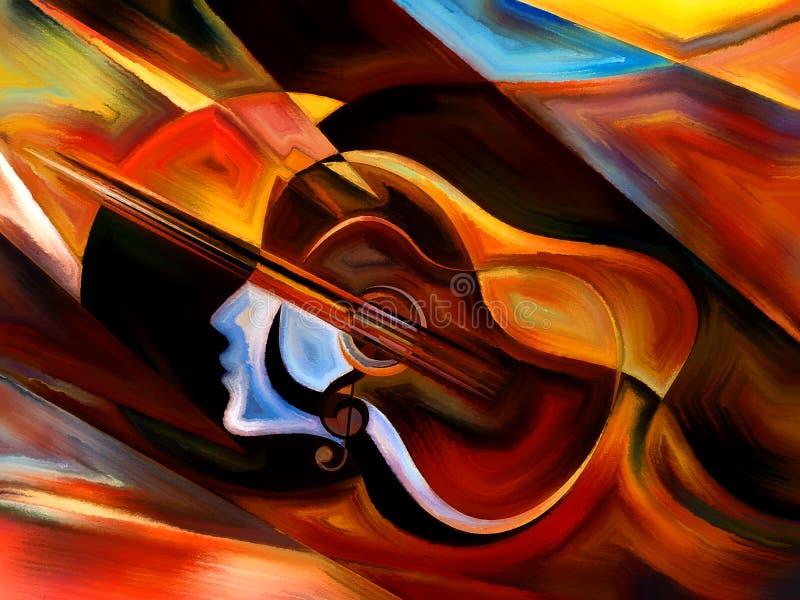 Υλικό της μουσικής διανυσματική απεικόνιση