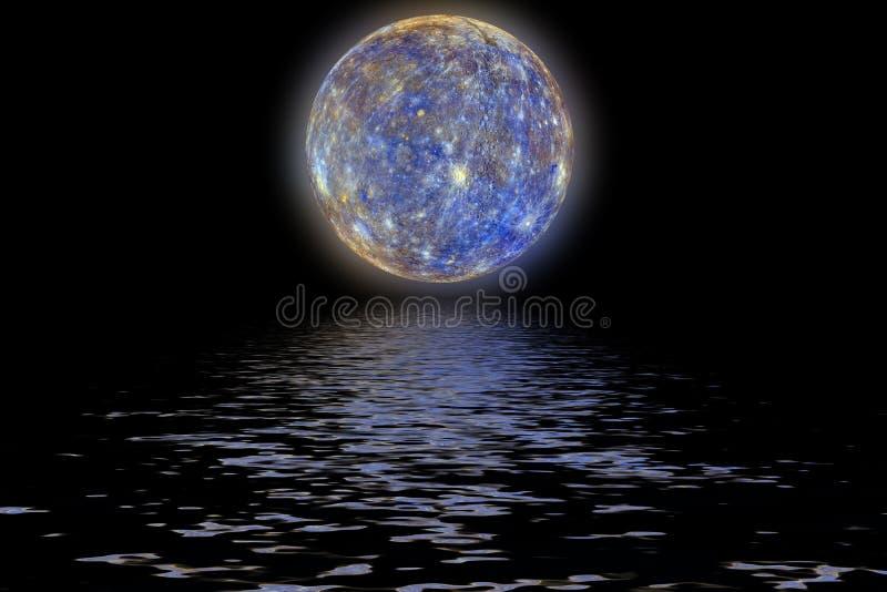 Υδράργυρος πλανητών απεικόνιση αποθεμάτων