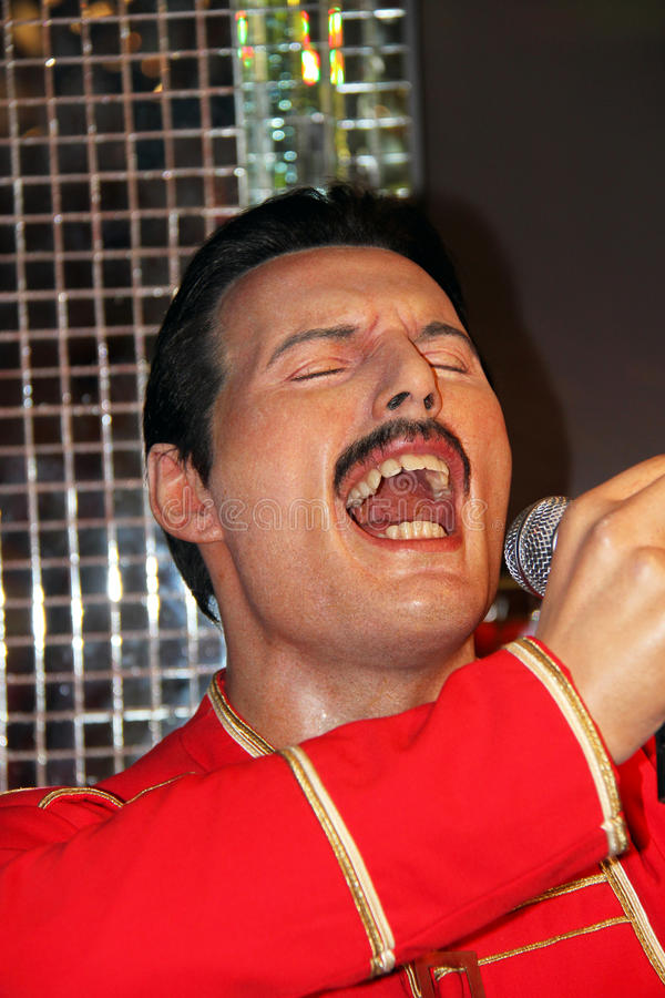 Υδράργυρος του Freddie στοκ φωτογραφίες με δικαίωμα ελεύθερης χρήσης
