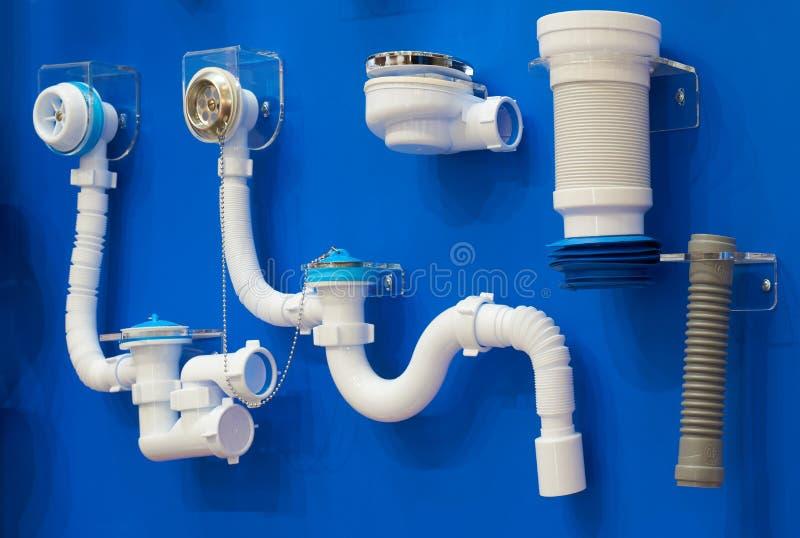 Υδραυλικά για τα λύματα στοκ εικόνες με δικαίωμα ελεύθερης χρήσης