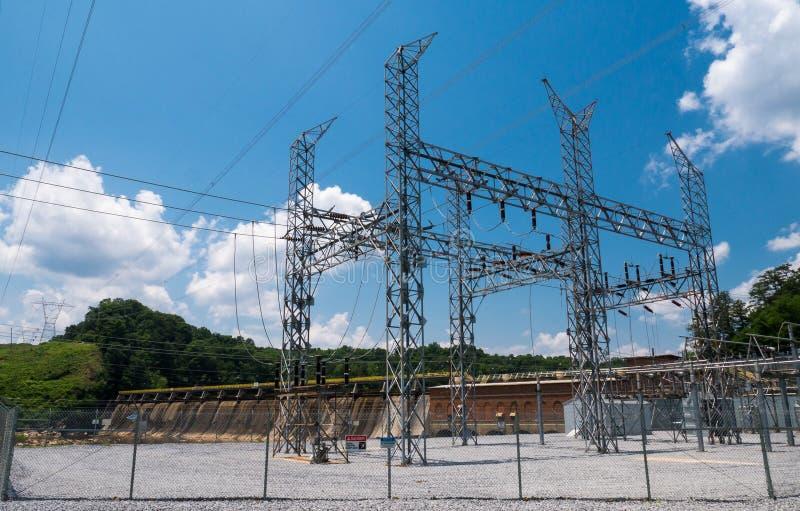 Υδρο σταθμός ηλεκτροπαραγωγής στοκ φωτογραφίες
