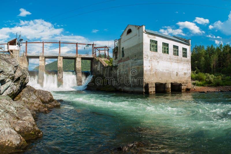 Υδρο σταθμός παραγωγής ηλεκτρικού ρεύματος στοκ φωτογραφίες με δικαίωμα ελεύθερης χρήσης