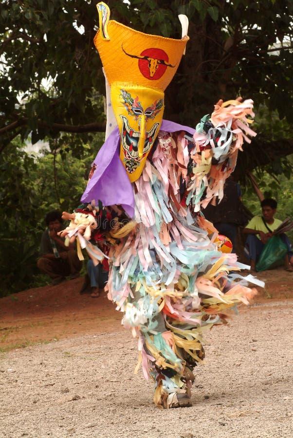 φάντασμα Ταϊλάνδη φεστιβάλ στοκ φωτογραφία με δικαίωμα ελεύθερης χρήσης